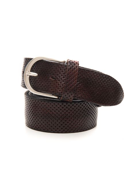 Cintura in pelle The Jack Leathers   20000041   TJ34-COW06