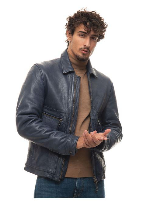 Giubbino biker Tony-Boy The Jack Leathers | -276790253 | TOY-BOYBLU
