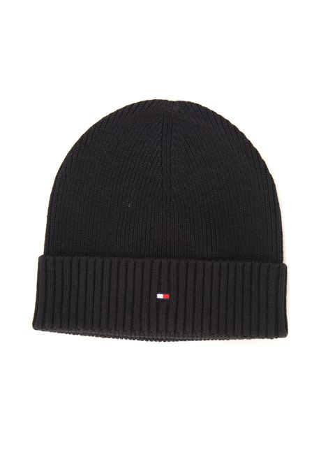 English rib hat pattern Tommy Hilfiger | 5032318 | AM0AM06573BDS
