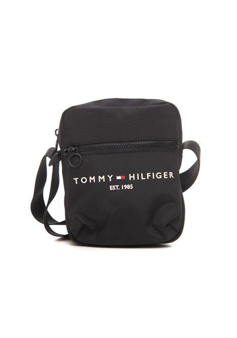 Shoulder bag in plain textile Tommy Hilfiger | 20000001 | AM0AM08016BDS