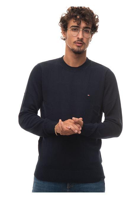 Round-neck pullover Tommy Hilfiger | 7 | MW0MW18598DW5
