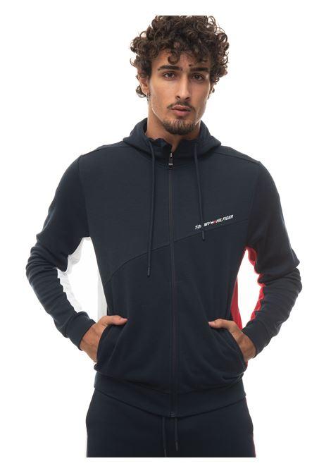 Zip sweatshirt with hood Tommy Hilfiger | 20000055 | MW0MW18653DW5