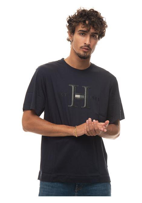 Round-necked T-shirt Tommy Hilfiger | 8 | MW0MW18732DW5