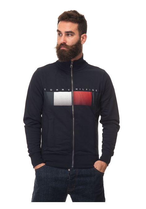 Sweatshirt with zip Tommy Hilfiger | 20000055 | MW0MW19360DW5