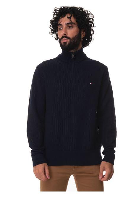 Half zip pullover Tommy Hilfiger | 7 | MW0MW19537DW5