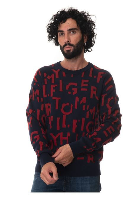 Round-neck pullover Tommy Hilfiger | 7 | MW0MW195630GY