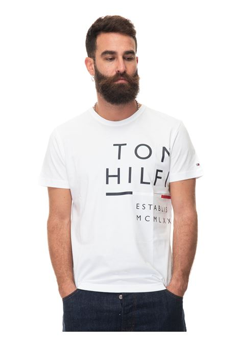 Round-necked T-shirt Tommy Hilfiger | 8 | MW0MW20149YBR