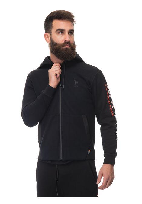 Zip sweatshirt with hood US Polo Assn | 20000055 | 60710-52888199