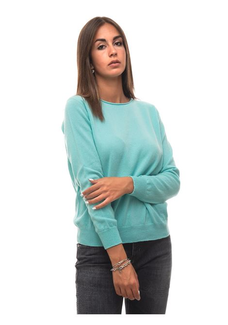 Cashmere pullover Vanisé | 7 | V84725ACQUAMARINA