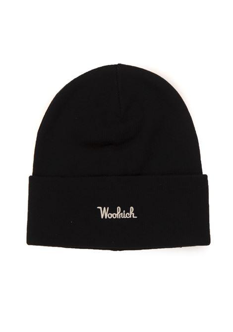 COTTON WOOL BEANIE HAT Hat Woolrich | 5032318 | CFWOAC0110-MRUF0588100