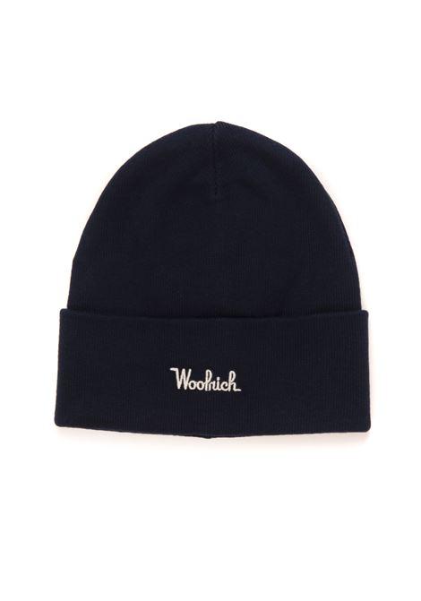 COTTON WOOL BEANIE HAT Hat Woolrich | 5032318 | CFWOAC0110-MRUF058831011