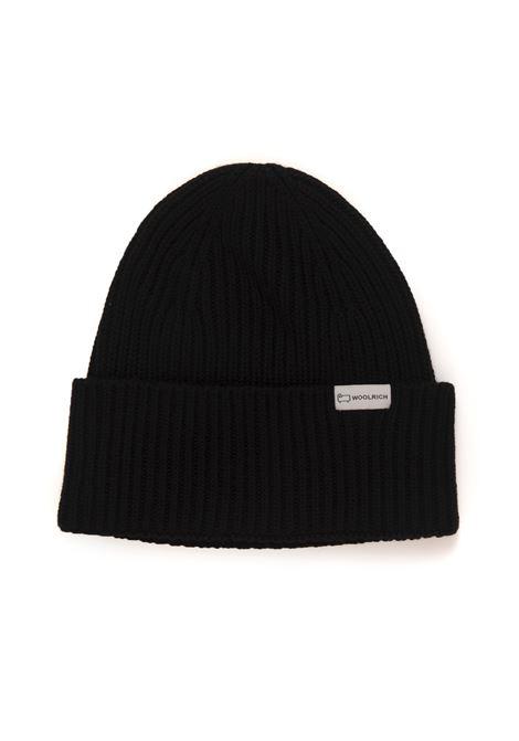 DOUBLE RIB  BEANIE HAT rib hat Woolrich | 5032318 | CFWOAC0113-MRUF0428100