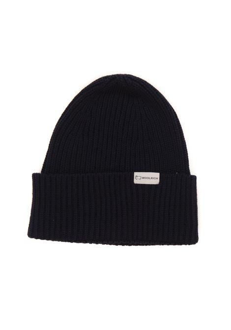 DOUBLE RIB  BEANIE HAT rib hat Woolrich | 5032318 | CFWOAC0113-MRUF04283989