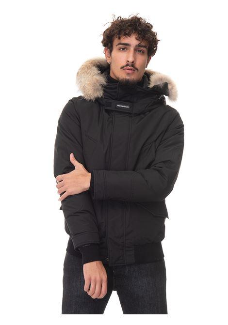 POLAR DETACHABLE FUR JACKET Short harrington jacket Woolrich | -276790253 | CFWOOU0488-MRUT0001BLK