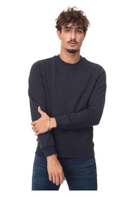 LUXURY FLEECE CREWNECK Crewneck sweatshirt Woolrich | 20000055 | CFWOSW0101-MRUT27243989