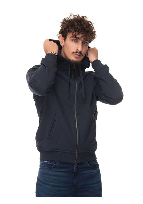 LUXURY FLEECE FULL ZIP HOODIE Sweatshirt with hood Woolrich | 20000055 | CFWOSW0103-MRUT27243989