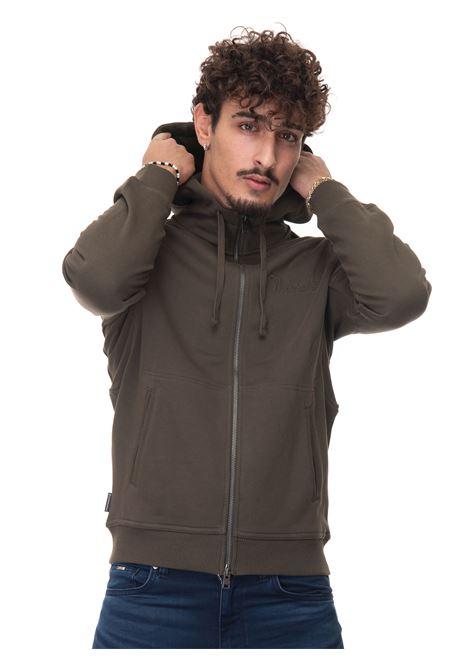 LUXURY FLEECE FULL ZIP HOODIE Sweatshirt with hood Woolrich | 20000055 | CFWOSW0103-MRUT2724614