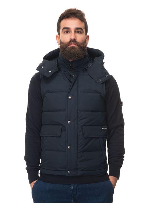 ALEUTIAN DETACHABLE HOOD VEST Vest Woolrich | 38 | CFWOVE0035-MRUT0001MLB