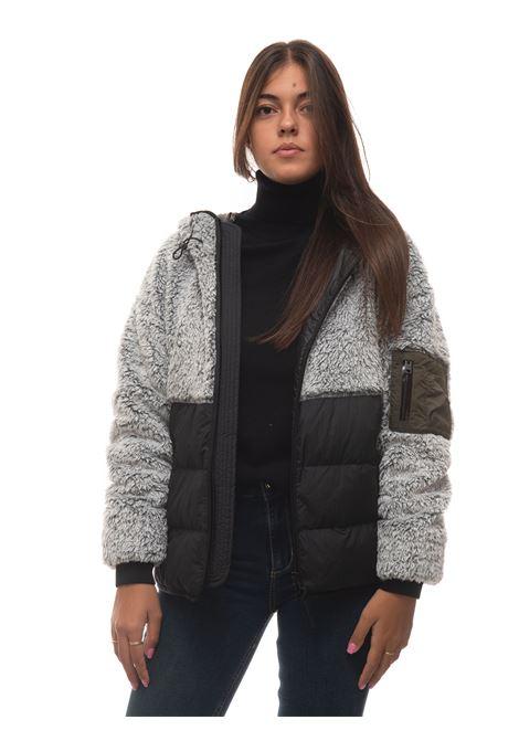 CURLY FLEECE HOODIE Short harrington jacket Woolrich | -276790253 | CFWWSW0065-FRUT2796100