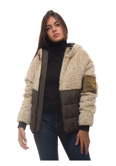 CURLY FLEECE HOODIE Short harrington jacket Woolrich | -276790253 | CFWWSW0065-FRUT27967329