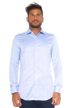 Camicia classica Brioni | 6 | RCL0-P302YFITTED-WILLIAM8400