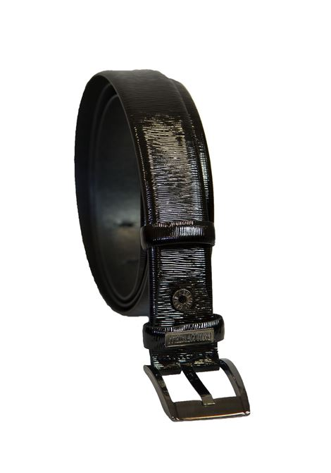 Classical belt in leather Carlo Pignatelli Classico | 20000041 | 28L8314LORDNERO