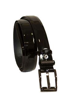 Leather belt Carlo Pignatelli Classico | 20000041 | 28L8315NERO