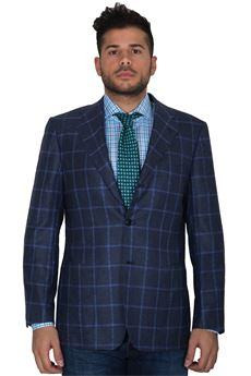 Checked jacket Kiton | 3 | UG330-6I133