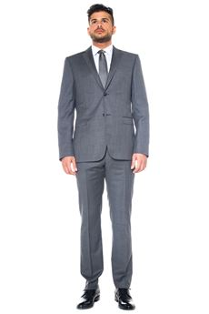 Suit with 2 buttons ZZegna | 11 | 28QCGN-522088GRIGIO
