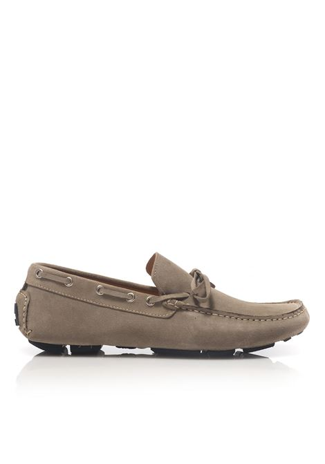Loafer in suede Angelo Pallotta | 12 | 801BEIGE
