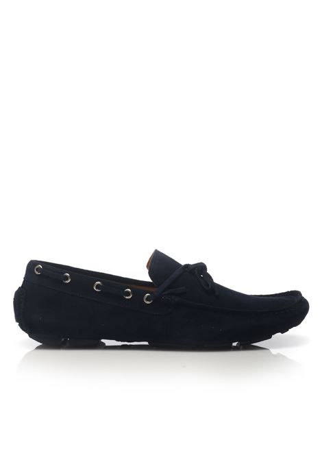 Loafer in suede Angelo Pallotta | 12 | 801BLU
