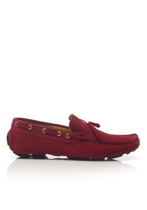 Loafer in suede Angelo Pallotta | 12 | 801ROSSO