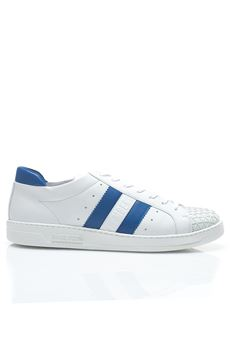 Sneakers bicolore Bikkembergs | 5032317 | BKE108342-BOUNCE 588WHITE/BLUE