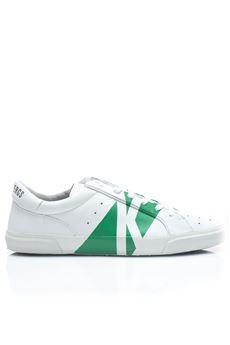 Sneakers bicolore Bikkembergs | 5032317 | BKE108443-RUBB-ER 668WHITE/GREEN