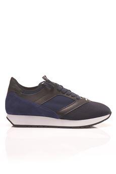Bimaterial sneakers Bikkembergs | 5032317 | BKE108458-RUNN-ER 622BLACK/BLUE
