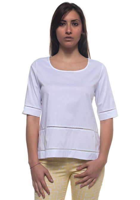 Wide tunic Blubianco | 8 | CRIPTO001