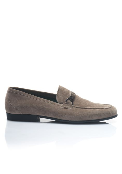 Loafer in suede Fratelli Rossetti | 12 | 51845TAUPE