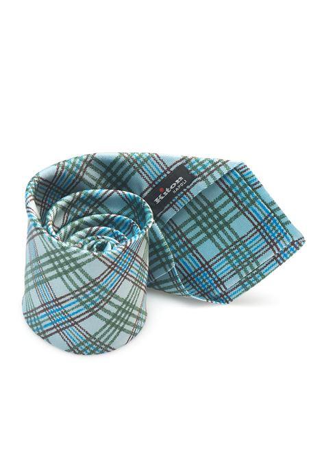Cravatta bicolore Kiton | 20000054 | 8,5-5D3301