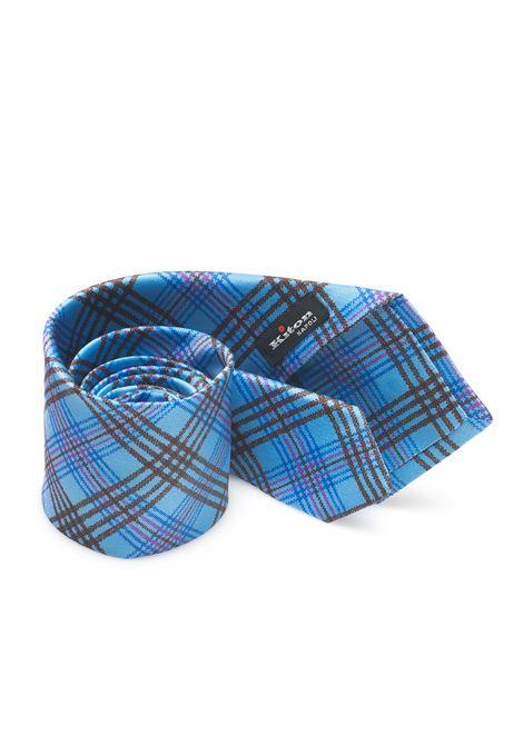 Cravatta bicolore Kiton | 20000054 | 8,5-5D3303