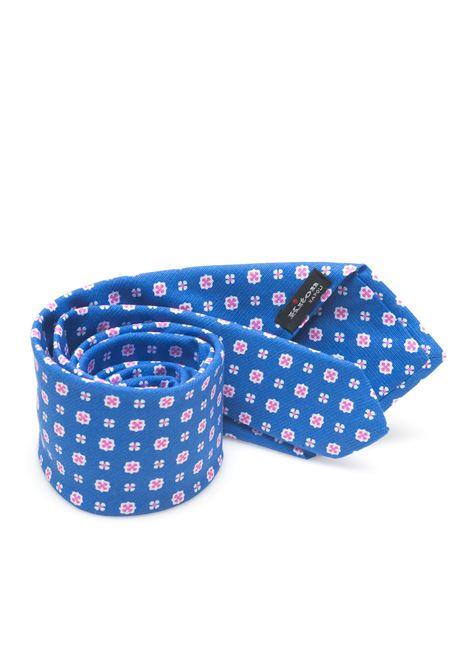Cravatta bicolore Kiton | 20000054 | 8,5-6D1804