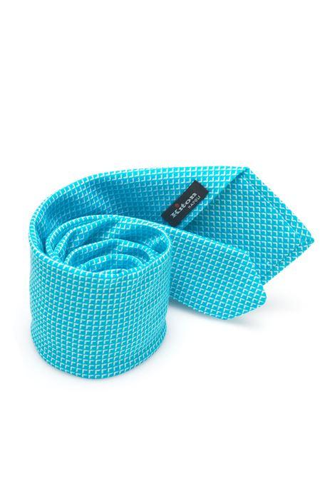 Cravatta tinta unita Kiton | 20000054 | 8,5-6D2901