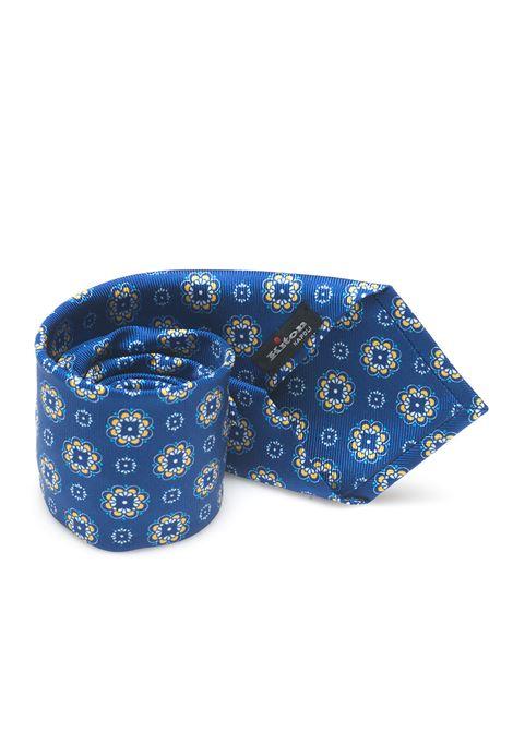 Cravatta bicolore Kiton | 20000054 | 8,5-6D3302