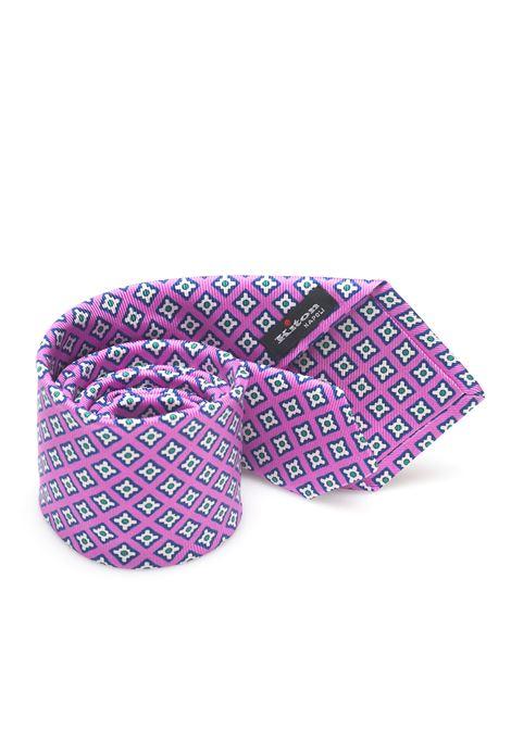 Bicolored Tie Kiton | 20000054 | 8,5-6D5204