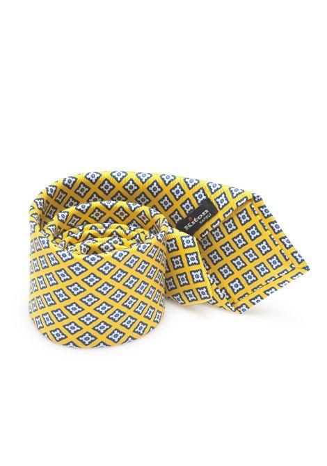 Bicolored Tie Kiton | 20000054 | 8,5-6D5208