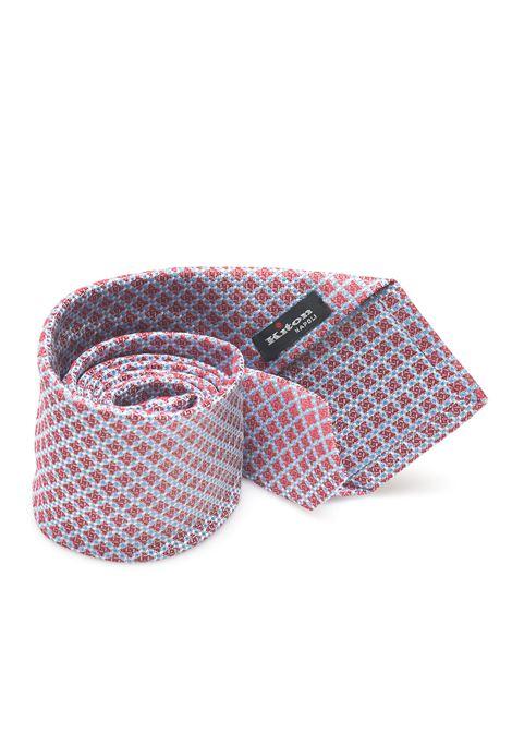 Cravatta bicolore Kiton | 20000054 | 8,5-6D6707