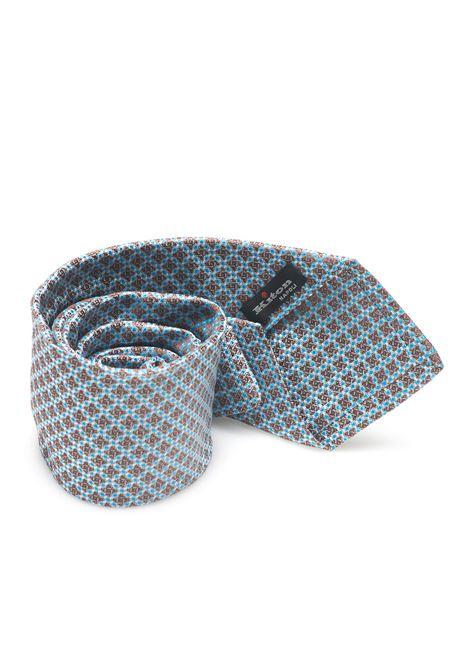 Cravatta bicolore Kiton | 20000054 | 8,5-6D6710