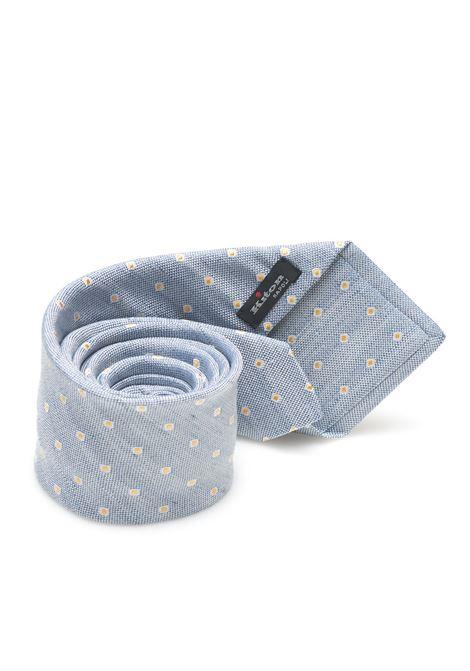 Cravatta bicolore Kiton | 20000054 | 8,5-6D7607