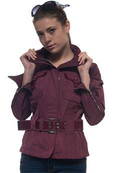 Montauk belted waist harrington jacket Peuterey | -276790253 | MONTAUK-PED2088896