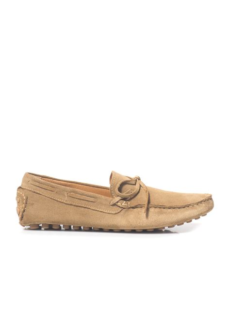 Loafer in suede Angelo Pallotta | 12 | 502BEIGE