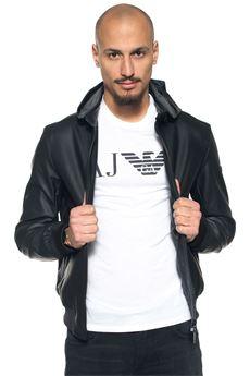 Giubbotto in ecopelle Armani Jeans   -276790253   3Y6B33-6EBAZ1200